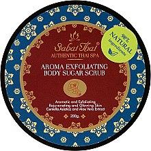 Profumi e cosmetici Scrub allo zucchero per corpo, con estratto di centella e aloe vera - Sabai Thai Jasmine Aroma Exfoliating Body Sugar Scrub