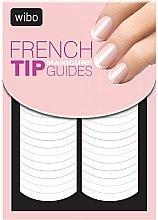 Profumi e cosmetici Adesivi per manicure francese - Wibo French Manicure Tip Guides