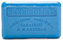 """Profumi e cosmetici Sapone di Marsiglia """"Giglio"""" - Foufour Savonnette Marseillaise Fleur de Lys"""