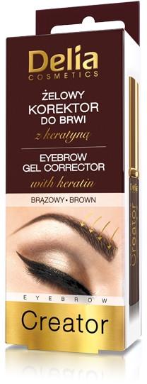 Correttore -gel per sopracciglia 4 in 1 - Delia Cosmetics Eyebrow Gel