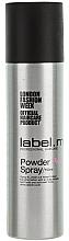 """Profumi e cosmetici Polvere spray per capelli """"Rosa"""" - Label.m Powder Pink Spray"""