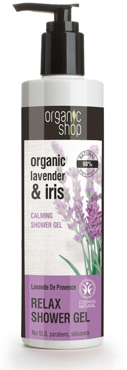 Gel doccia - Organic Shop Organic Shop Organic Lavender and Iris Relax Shower Gel — foto N1