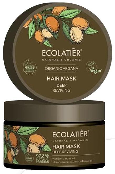 "Maschera per capelli ""Recupero profondo"" - Ecolatier Organic Argana Hair Mask"