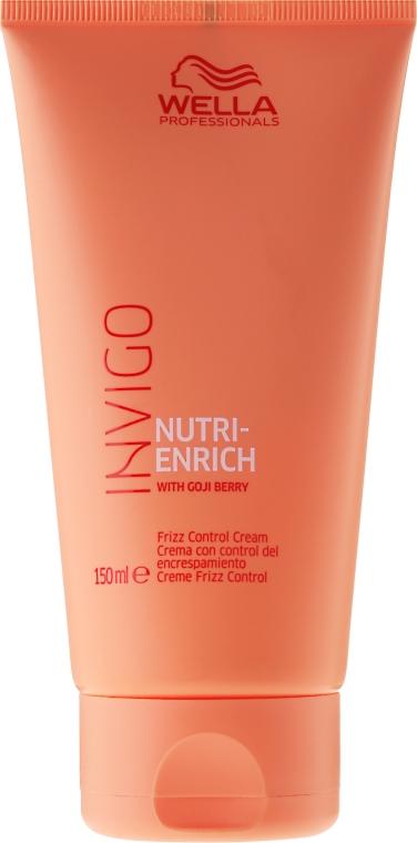 Crema per capelli ribelli - Wella Professionals Invigo Nutri-Enrich Frizz Control Cream