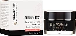 Profumi e cosmetici Crema contorno occhi antirughe - Arganicare Collagen Boost Perfecting Eye Cream