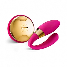 Massaggiatore vibrante per coppie, rosa - Lelo Tiani 24k Hot Cerise — foto N1