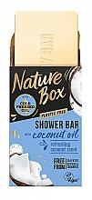 Profumi e cosmetici Sapone solido con olio di cocco - Nature Box Coconut Oil Shower Bar
