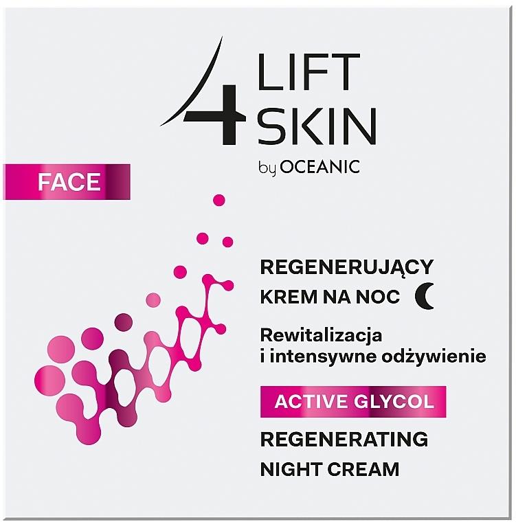 Crema viso rigenerante, da notte - Lift4Skin Active Glycol Regenerating Night Cream