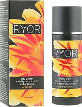 Profumi e cosmetici Crema viso con acido ialuronico e olio di argan, da giorno - Ryor Day Cream With Hyaluronic Acid And Argan Oil