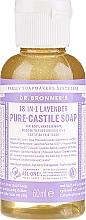 """Profumi e cosmetici Sapone liquido """"Lavanda"""" - Dr. Bronner's 18-in-1 Pure Castile Soap Lavender"""