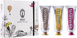 "Profumi e cosmetici Set ""Wonders of the World"" - Marvis Set (toothpaste/3x25ml)"
