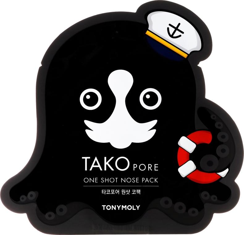 Maschera anti-punti neri - Tony Moly Tako Pore One Shot Nose