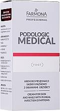 Profumi e cosmetici Crema per la cura della pelle e delle unghie per i sintomi della micosi - Farmona Professional Podologic Medical Cream For Skin With Fungal Infection Symptoms