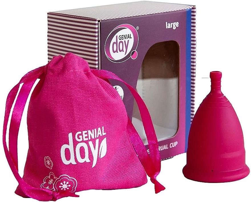 Coppetta mestruale taglia L - Genial Day Menstrual Cup Large — foto N2