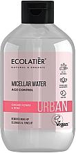 Profumi e cosmetici Acqua micellare struccante - Ecolatier Urban Micellar Water Age Control