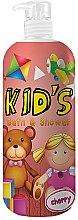 Profumi e cosmetici Bagnodoccia per bambini - Hegron Kid's Cherry Bath & Shower