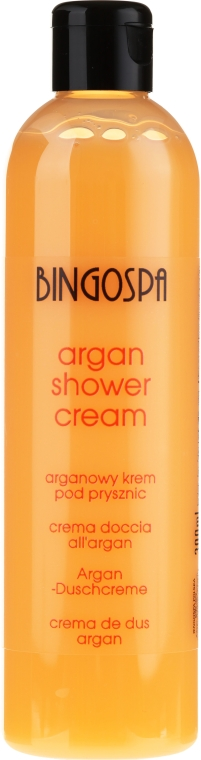 Crema doccia all'olio di argan e pesca - BingoSpa Argan Cream With Peach Shower — foto N2