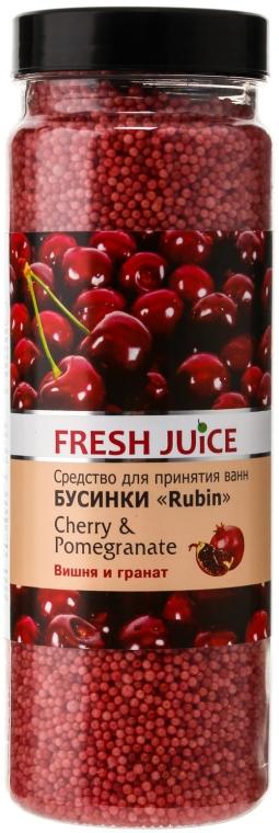 Perle da bagno - Fresh Juice Bath Bijou Rubin Cherry and Pomergranate