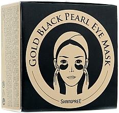 Profumi e cosmetici Maschera contorno occhi in idrogel con polvere di perla nera - Shangpree Gold Hydrogel Eye Mask