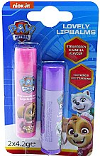 Profumi e cosmetici Set - Nickelodeon Paw Patrol (lipbalm/2x4.2g)