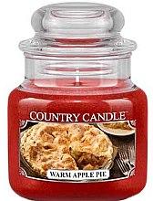 Profumi e cosmetici Candela profumata in vetro - Country Candle Warm Apple Pie