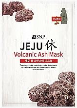 Profumi e cosmetici Maschera viso purificante alla cenere vulcanica - SNP Jeju Rest Volcanic Ash Mask