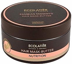 Profumi e cosmetici Maschera-burro per capelli - Ecolatier Butter Mask