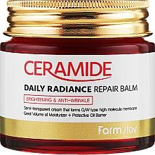 Profumi e cosmetici Balsamo rassodante viso alle ceramidi - FarmStay Ceramide Daily Radiance Repair Balm