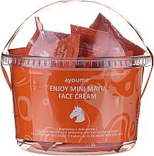 Profumi e cosmetici Crema viso rivitalizzante all'olio di cavallo - Ayoume Enjoy Mini Mayu Face Cream