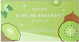 Profumi e cosmetici Palette di ombretti - Moira Kiwi Be Friends? Pressed Pigments Palette