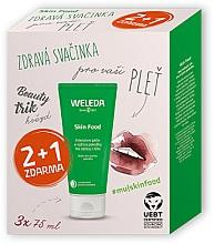 Profumi e cosmetici Set - Weleda Skin Food Multipack 2+1 (cr/3x75ml)