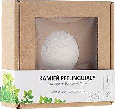Profumi e cosmetici Pietra naturale per peeling viso, bianca - Pierre de Plaisir Natural Scrubbing Stone Face