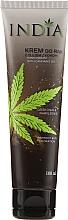 Profumi e cosmetici Crema mani con olio di canapa - India Hand Cream With Cannabis