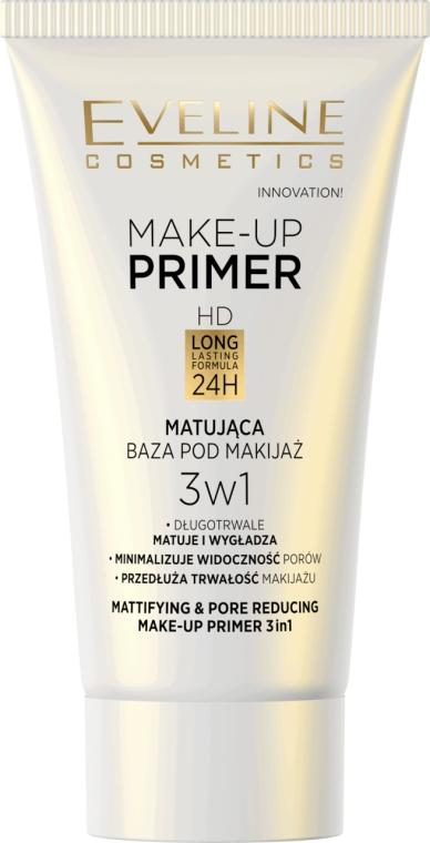 Primer - Eveline Cosmetics Make-up Primer 3v1