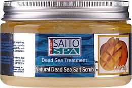 """Profumi e cosmetici Scrub corpo al sale """"Mango"""" - Saito Spa Mango Dead Sea Salt Body Scrub"""