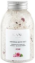"""Profumi e cosmetici Sale da bagno minerale """"Rosa"""" - Kanu Nature Rose Mineral Bath Salt"""
