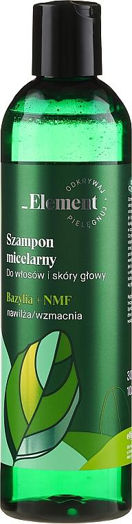 Shampoo rinforzante anticaduta Estratto di basilico + FIN - _Element Basil Strengthening Anti-Hair Loss Shampoo