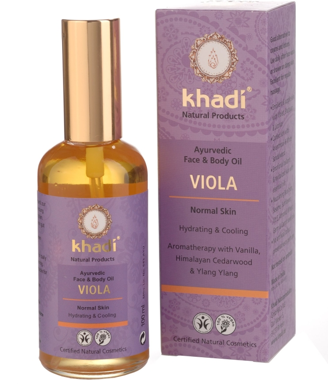 "Olio per viso e corpo ""Violet"" - Khadi"