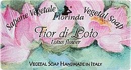 "Profumi e cosmetici Sapone naturale ""Fiore di loto"" - Florinda Sapone Vegetale Vegetal Soap Lotus Flower"