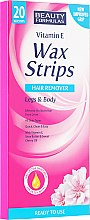 Profumi e cosmetici Strisce depilatorie - Beauty Formulas Wax Strips Hair Remover Legs & Body