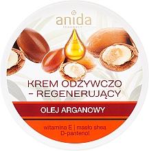 Profumi e cosmetici Crema nutriente con olio di argan - Anida Pharmacy Argan Oil Nourishing Cream