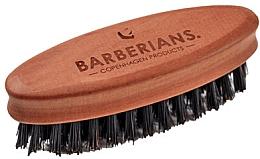Profumi e cosmetici Spazzola da barba, ovale - Barberians. Beard Brush Oval
