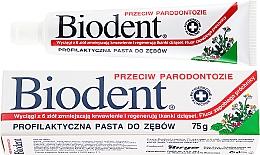 Profumi e cosmetici Dentifricio anti-parodontite - Biodent