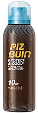 Profumi e cosmetici Mousse solare rinfrescante - Piz Buin Protect & Cool Refreshing Sun Mousse SPF10