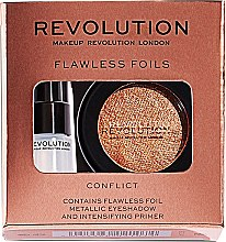 Profumi e cosmetici Set - Makeup Revolution Flawless Foils (eyeshadow/2g + primer/2ml)