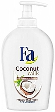 """Sapone liquido """"Latte di cocco"""" - Fa Coconut Milk — foto N2"""