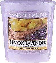 "Profumi e cosmetici Candela profumata ""Limone e lavanda"" - Yankee Candle Scented Votive Lemon Lavender"