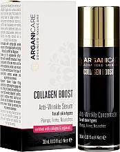Profumi e cosmetici Siero antirughe - Arganicare Collagen Boost Anti-Wrinkle Serum