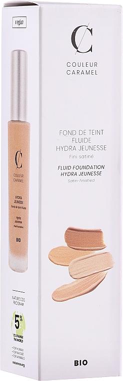 Fondotinta fluido - Couleur Caramel Fond De Teint Fluide Hydra Jeunesse