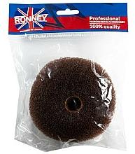 Profumi e cosmetici Rullo per capelli, 11x4,5 cm, marrone - Ronney Professional Hair Bun 050